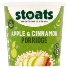 Stoats apple & cinnamon porridge quick pot