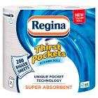Regina Thirst Pockets Extra Long Roll - 2x100 sheets