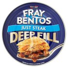 Fray Bentos 'tender' just steak pie - 475g Brand Price Match - Checked Tesco.com 25/11/2015