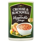 Crosse & Blackwell hearty vegetable soup - 400g