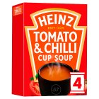 Heinz Cream of Tomato Soup with Chilli - 4x22.5g