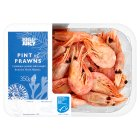 Big & Juicy Pint of Prawns MSC - 350g