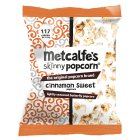 Metcalfe's skinny topcorn sweet cinnamon spice - 75g Introductory Offer
