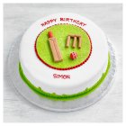 Fiona Cairns Cricket Sponge Cake - each