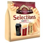 Cathedral City Selections variety Cheddar cheese, 14 pieces - 168g