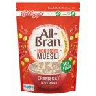 Kellogg's All Bran High Fibre Muesli Cranberry & Sultana - 550g New Line