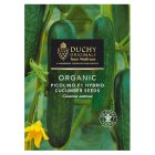 Waitrose Duchy Organic cucumber seeds - pack