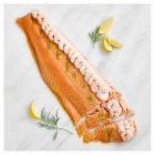 Waitrose poached and dressed salmon side - 1.1kg