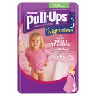 Huggies Pull Ups Nightime Potty Training Pants, Girl, Medium 11-18kg - 10-18kg M Girls