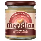 Meridian crunchy cashew butter - 170g Brand Price Match - Checked Tesco.com 27/04/2016