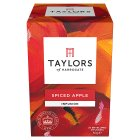 Taylors spiced apple wrapped tea bags, 20 pack - 50g New Line