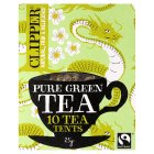 Clipper Fairtrade pure green tea 10s - 25g