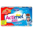Actimel for kids strawberry - 6x100g Introductory Offer
