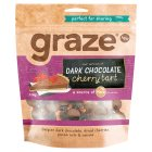 Graze Dark Chocolate Cherry Tart - 128g