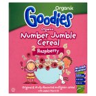 Goodies number cereal raspberry