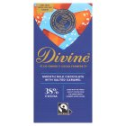 Divine Fairtrade 38% milk chocolate toffee & sea salt - 100g