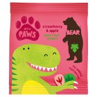 Bear dino paws strawberry & apple - 20g Brand Price Match - Checked Tesco.com 23/07/2014