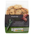 Waitrose sourdough bruschettas - 90g