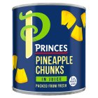 Princes pineapple chunks in juice - drained 260g