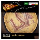 Menu from Waitrose quiche lorraine - 550g