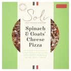 Soli spinach & goats cheese pizza - 350g
