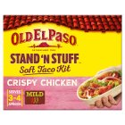 Old El Paso Stand 'N' Stuff Crispy Chicken Soft Taco Kit - 351g