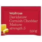 Waitrose Cornish Cheddar Mature Strength 5 - 350g