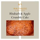 Waitrose 1 apple blackcurrant crumble cake -