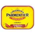 Hyacinthe Parmentier sardines in olive oil and chilli - 135g