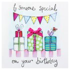 To Someone Special on Your Birthday Card - each