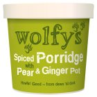Wolfy's spiced porridge with pear & ginger - 102g