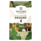 Taylors rich italian ground coffee - 454g