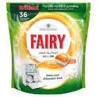 Fairy clean & fresh dishwasher tablets 36 citrus grove - 592g
