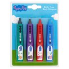 Peppa Pig bath time crayons - 4s