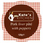 Kate's kitchen pork liver pâté with peppers - 120g
