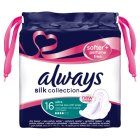 Always Ultra Silk Normal Plus with wings Sanitary Towels 16PK - 16s Brand Price Match - Checked Tesco.com 25/02/2015