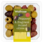 Waitrose mixed olives - 140g
