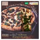 Waitrose Menu mushroom & gorgonzola pizza - 300g Introductory Offer