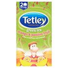 Tetley green tea mango & passionfruit 20 tea bags - 40g Brand Price Match - Checked Tesco.com 16/04/2015