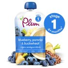 Plum blueberry, parsnip & buckwheat - 100g Brand Price Match - Checked Tesco.com 16/04/2014