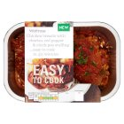 Waitrose Easy To Cook chicken breasts with chick pea stuffing - 270g