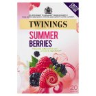 Twinings limited edition summer berries 20 teabags - 40g Brand Price Match - Checked Tesco.com 23/07/2014
