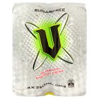V energy sugar free - 4x250ml
