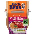 Uncle Ben's Rice Time spicy tikka masala rice & sauce pot - 300g