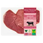 Waitrose Aberdeen Angus beef frying steak - 300g