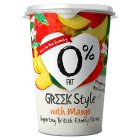 Yeo Valley Greek style 0% fat mango yogurt - 450g New Line