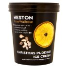 Heston from Waitrose Christmas pudding ice cream - 500ml