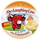 The Laughing Cow light with Emmental 8 triangles - 128g Brand Price Match - Checked Tesco.com 09/12/2013