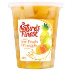 SPC Nature's Finest pear, peach & pineapple in juice - 400g Brand Price Match - Checked Tesco.com 05/03/2014
