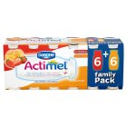 Actimel strawberry & apricot - 12x100g